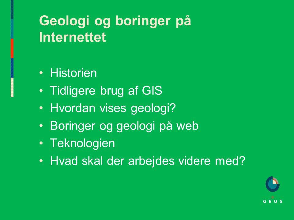 Geologi og boringer på Internettet