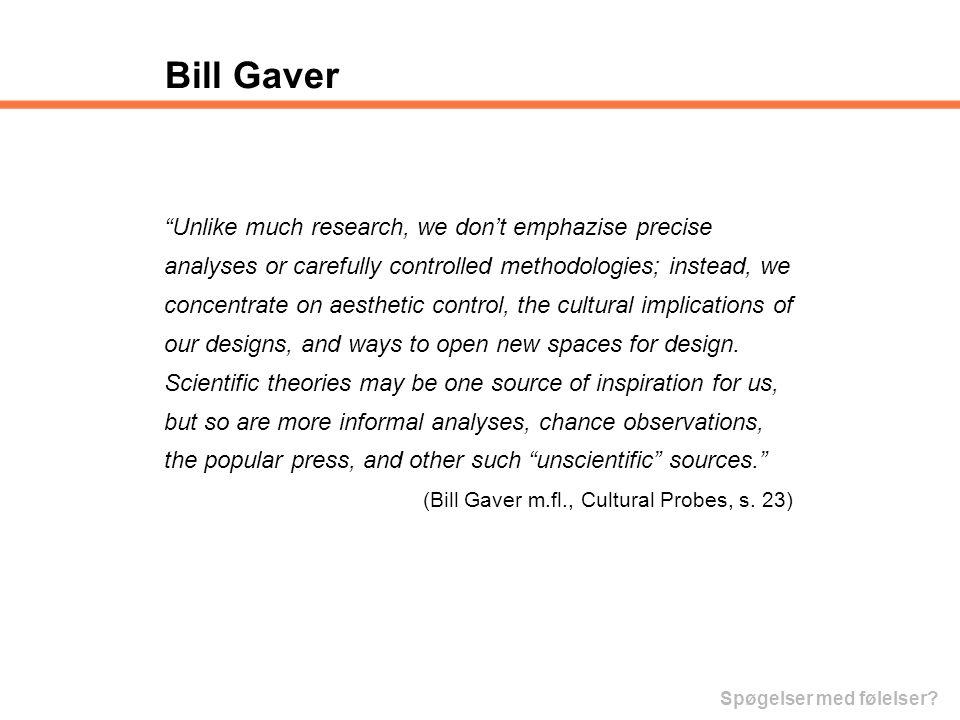 Bill Gaver