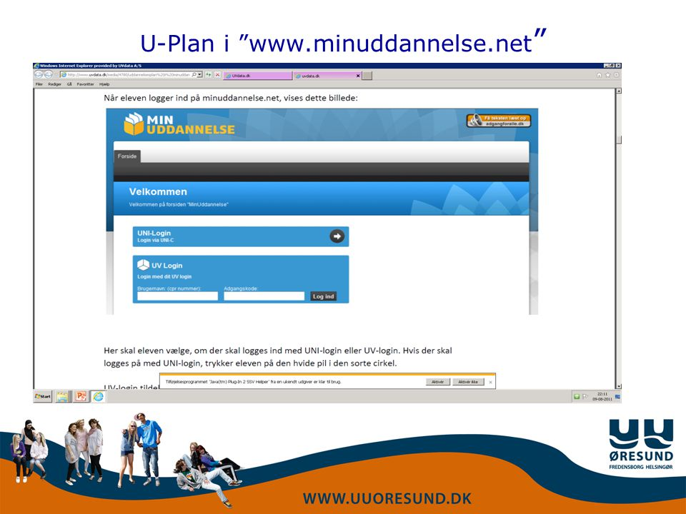 U-Plan i www.minuddannelse.net