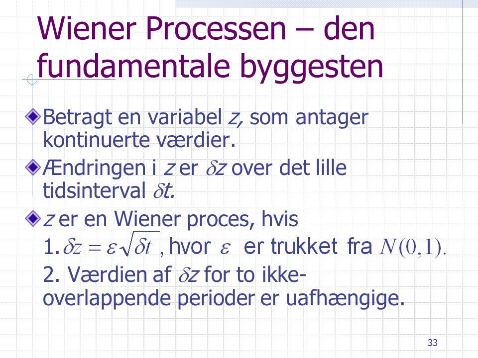 Wiener Processen – den fundamentale byggesten