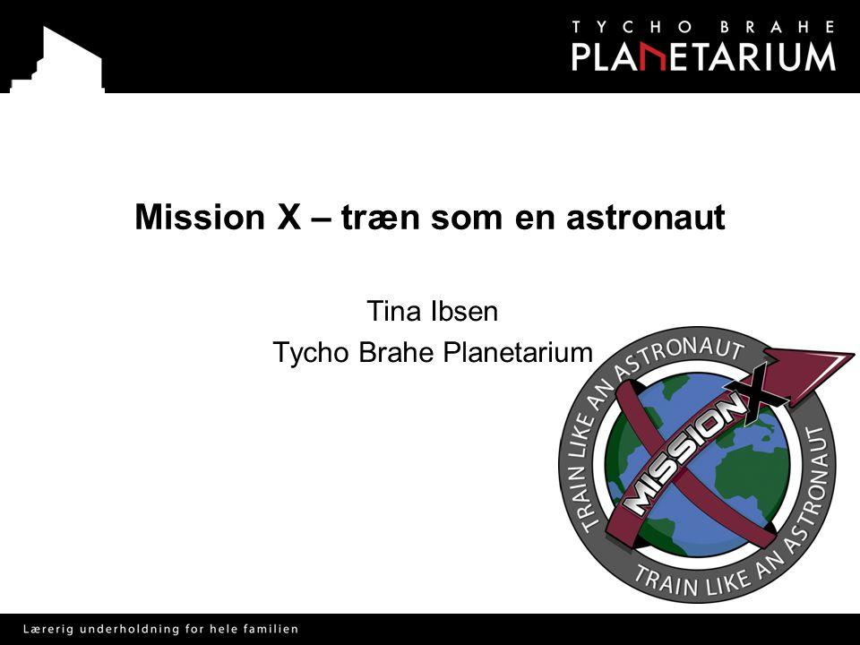 Mission X – træn som en astronaut