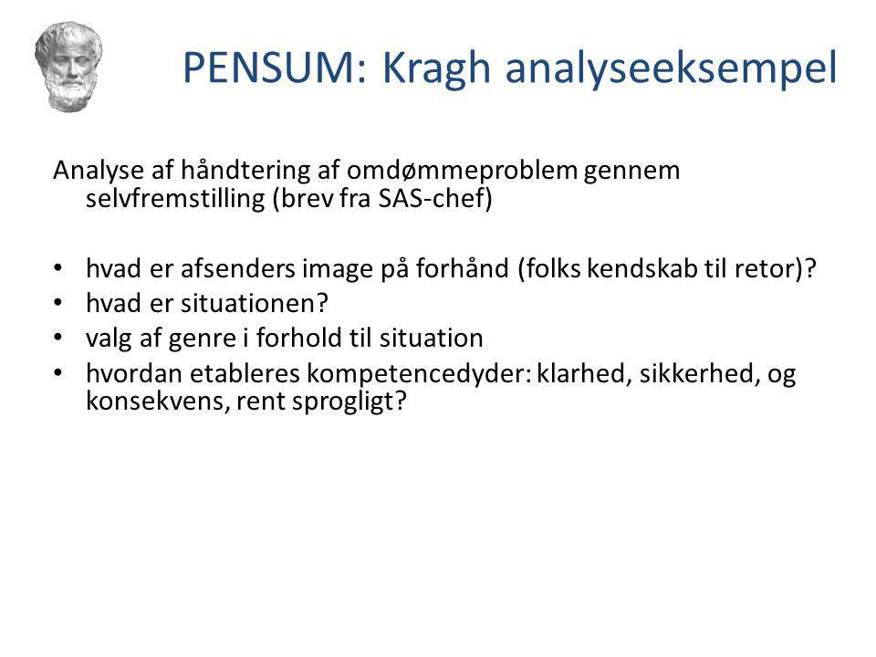 PENSUM: Kragh analyseeksempel