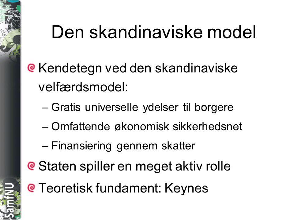 Den skandinaviske model