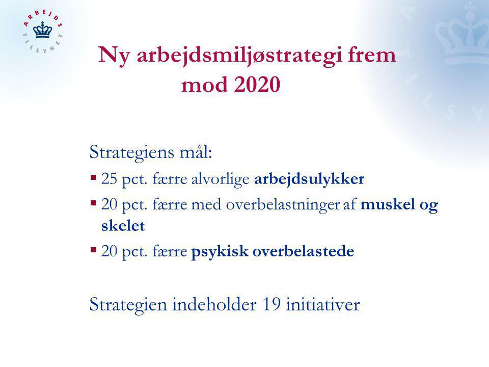 Ny arbejdsmiljøstrategi frem mod 2020