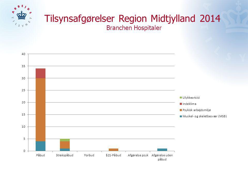 Tilsynsafgørelser Region Midtjylland 2014