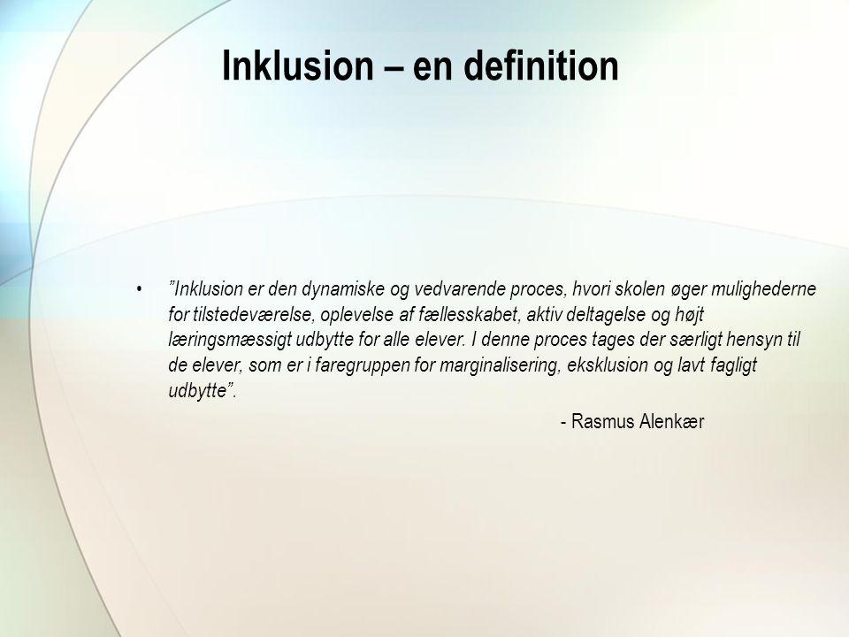 Inklusion – en definition