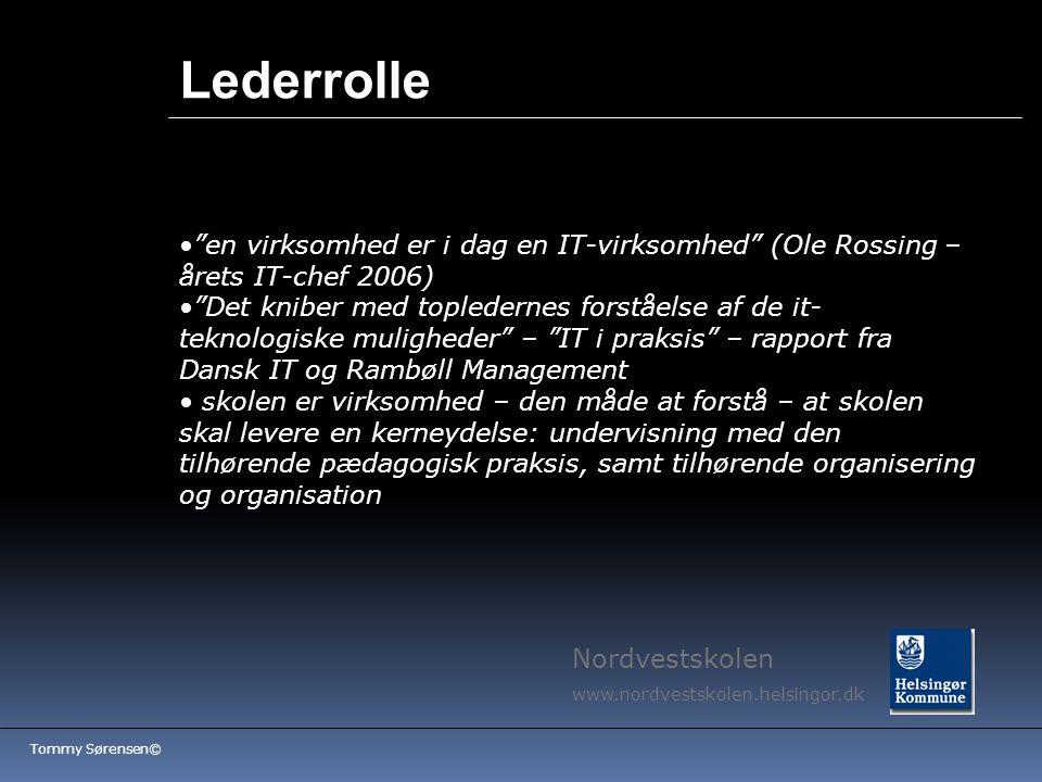 Lederrolle en virksomhed er i dag en IT-virksomhed (Ole Rossing – årets IT-chef 2006)