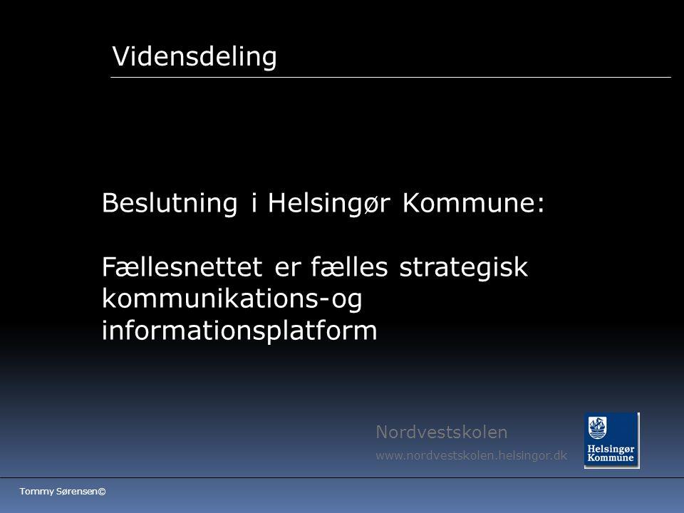 Beslutning i Helsingør Kommune: