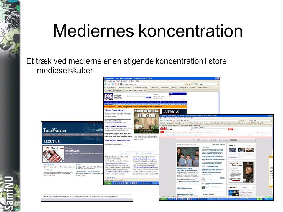 Mediernes koncentration
