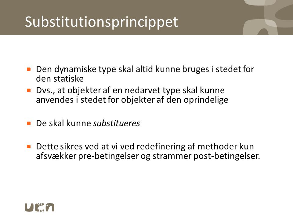 Substitutionsprincippet