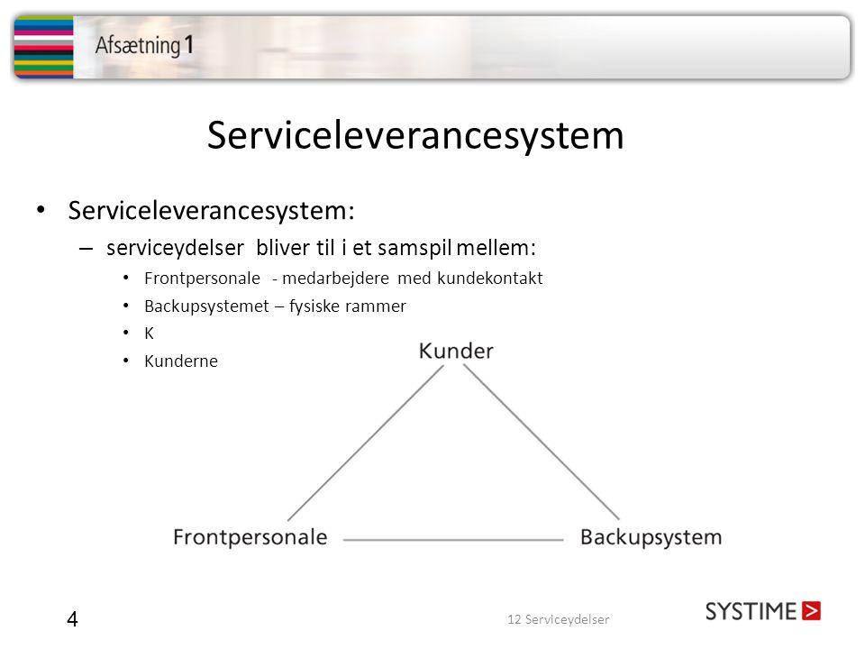 Serviceleverancesystem