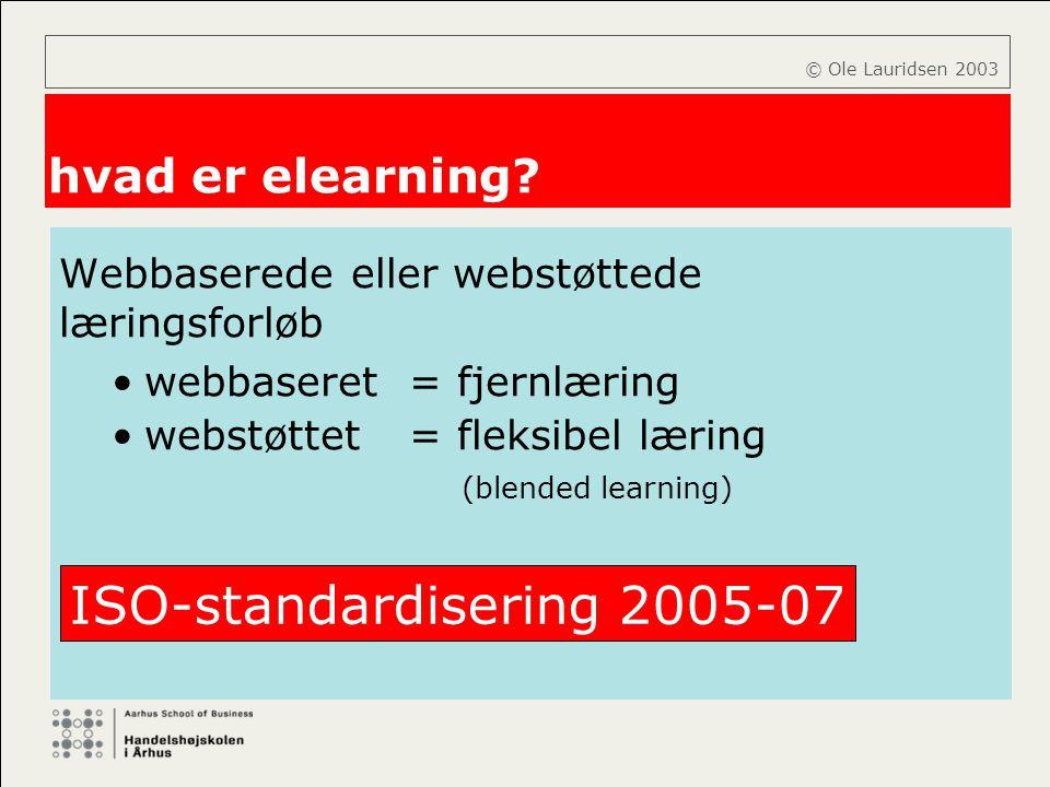 ISO-standardisering 2005-07