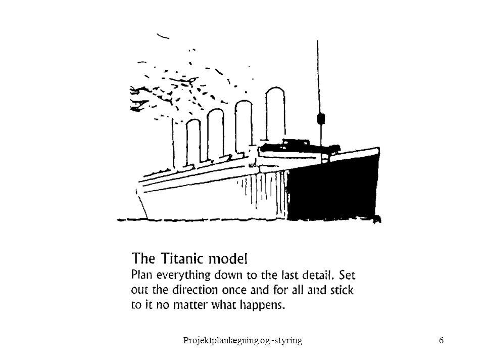 Projektplanlægning og -styring