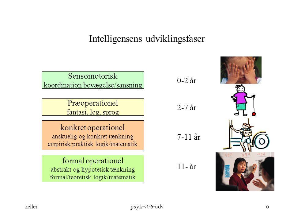 Intelligensens udviklingsfaser