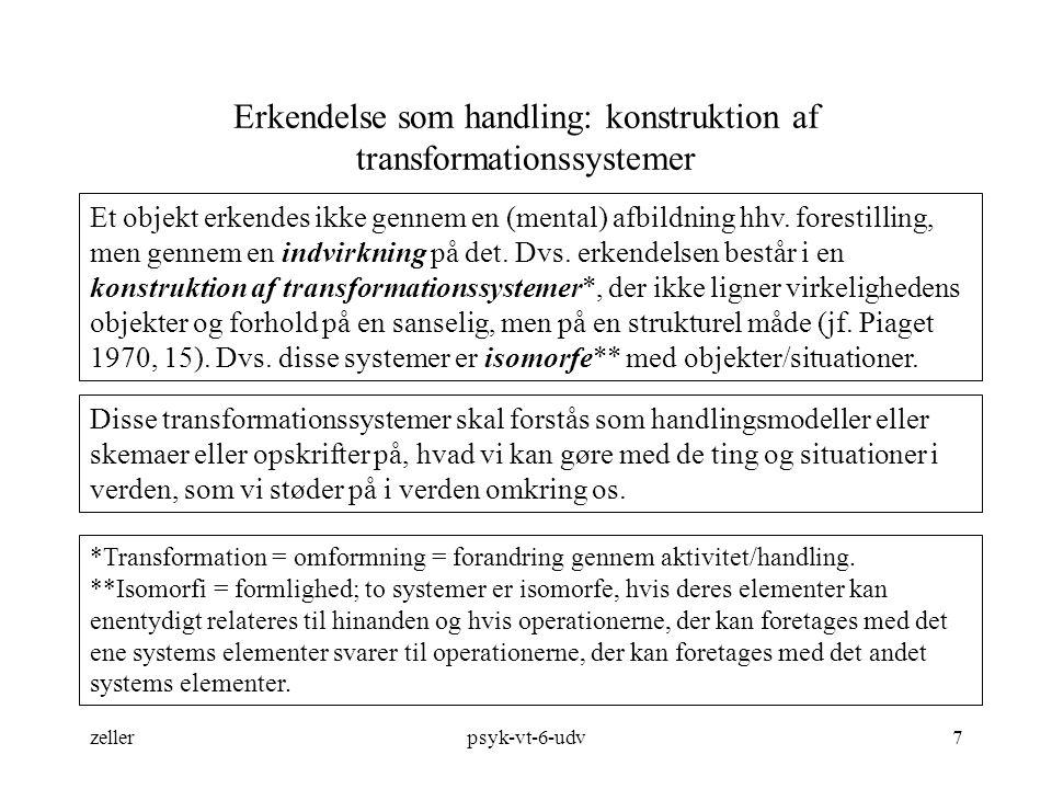 Erkendelse som handling: konstruktion af transformationssystemer