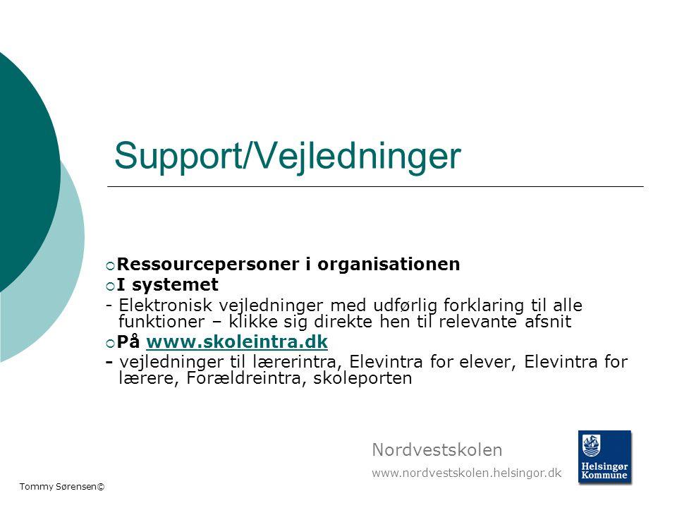 Support/Vejledninger