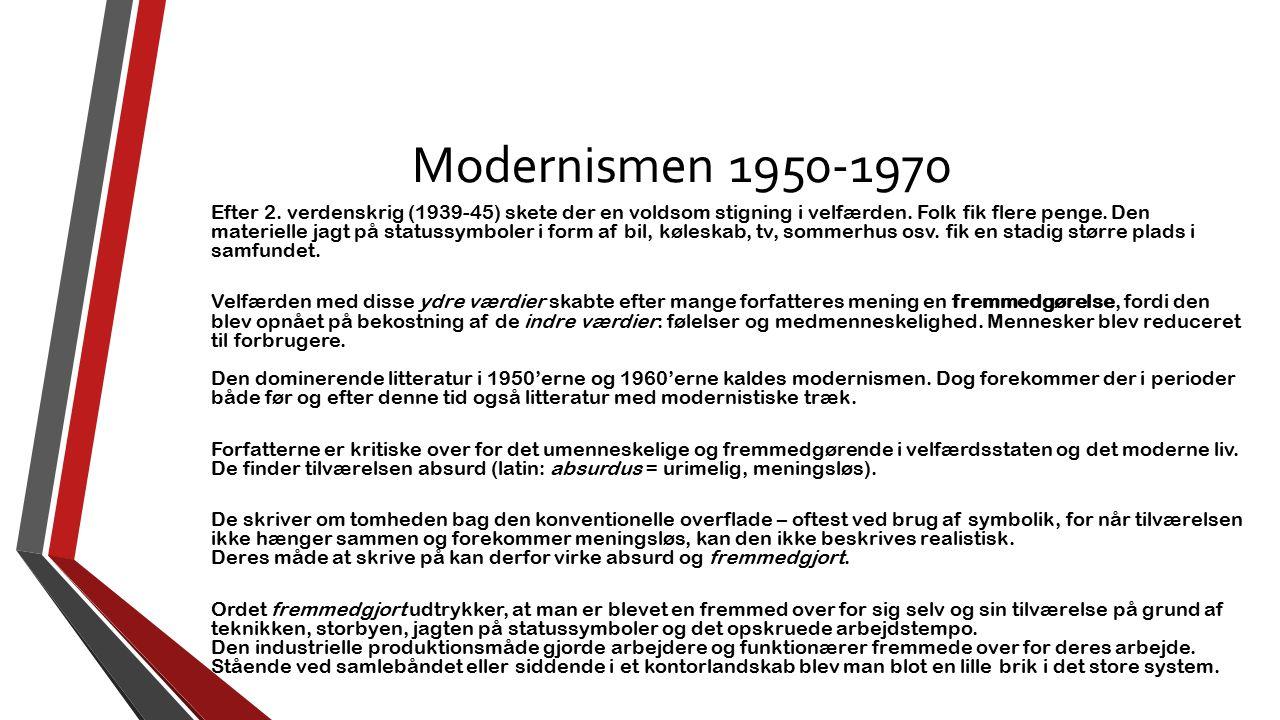 Modernismen 1950-1970