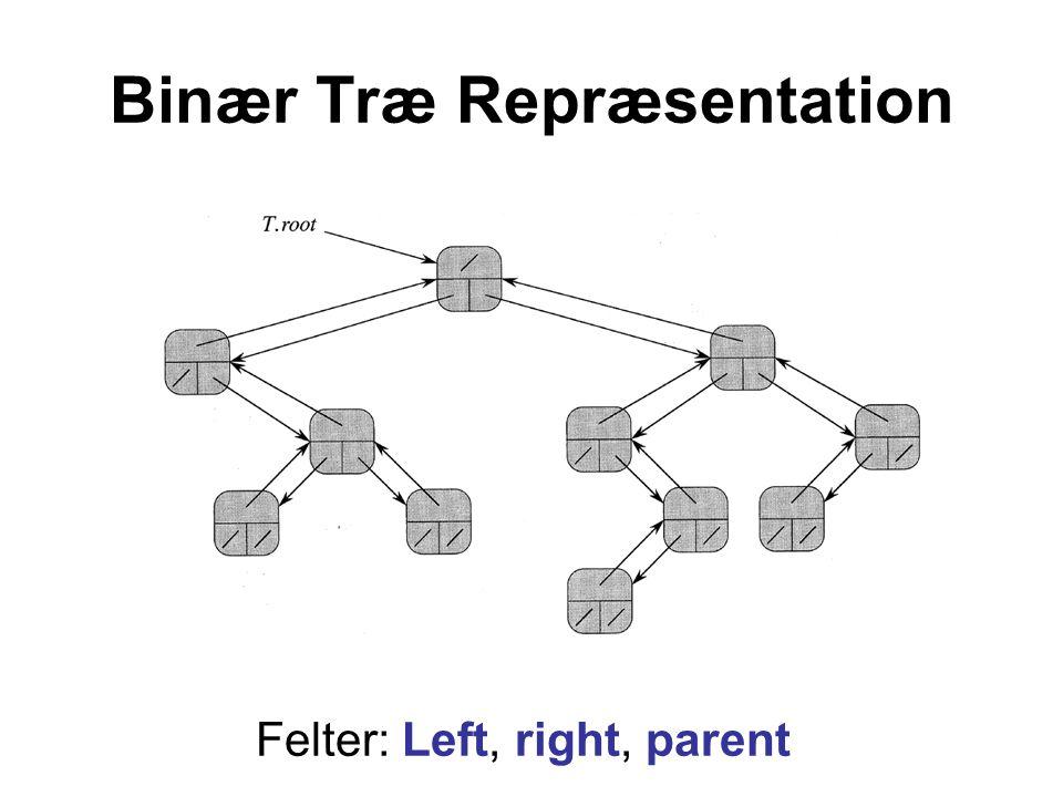 Binær Træ Repræsentation