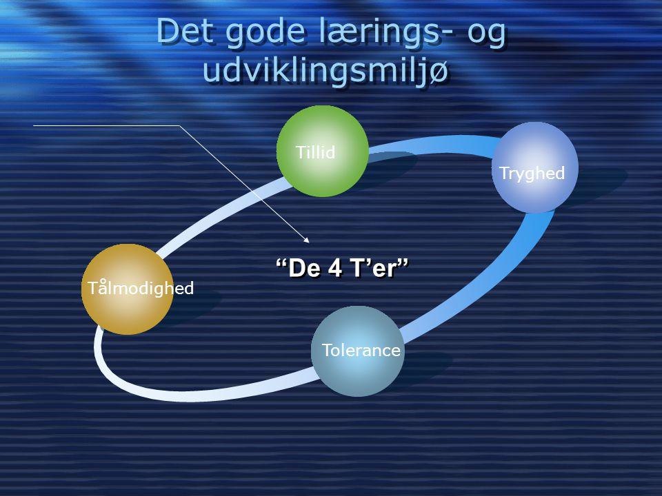 Det gode lærings- og udviklingsmiljø