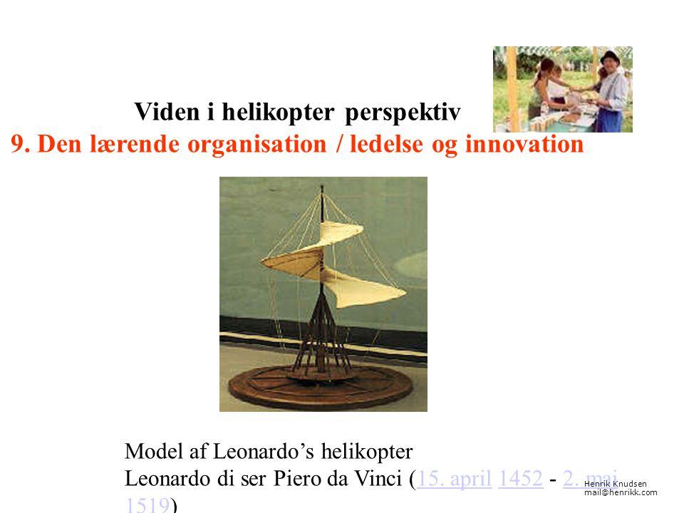 Viden i helikopter perspektiv