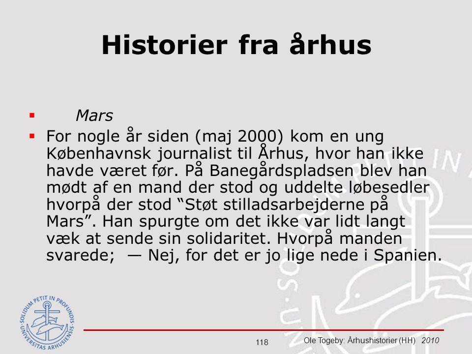 Historier fra århus Mars