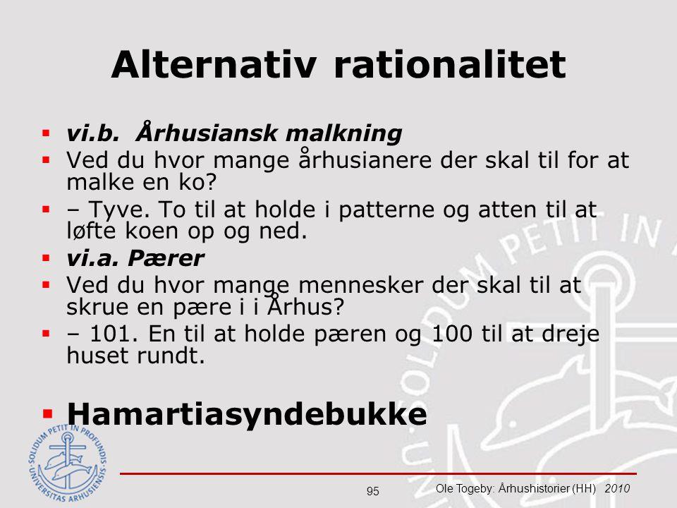 Alternativ rationalitet