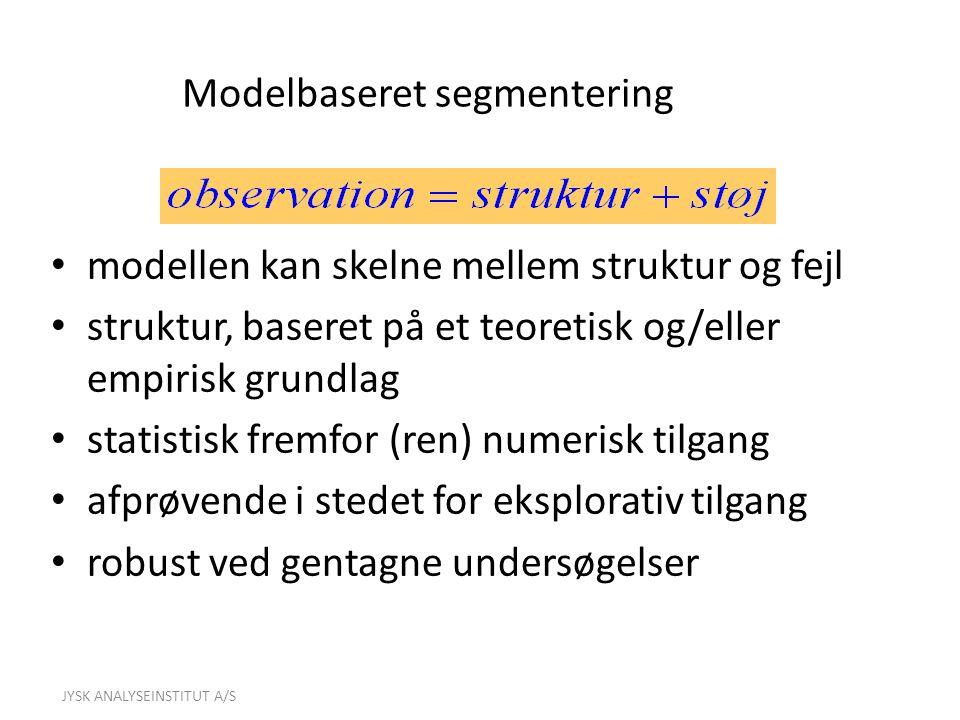 Modelbaseret segmentering