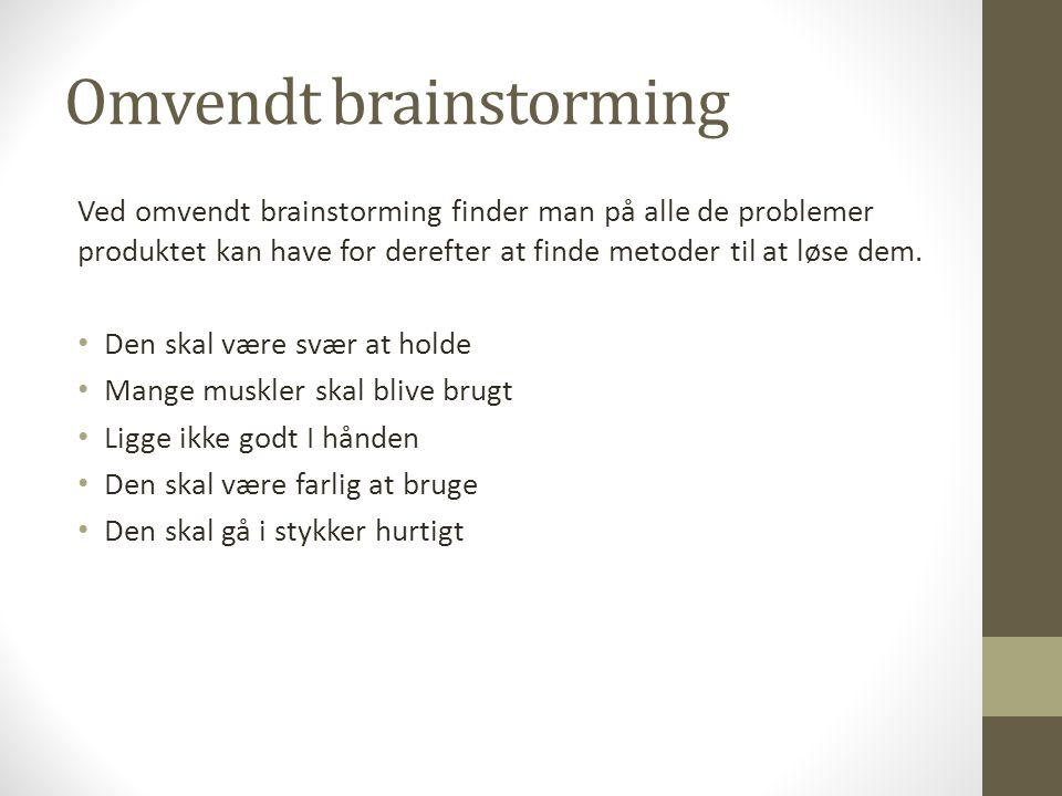 Omvendt brainstorming