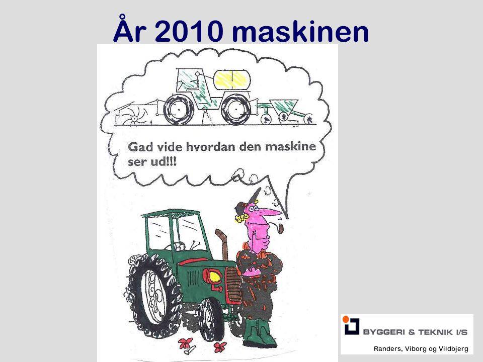År 2010 maskinen