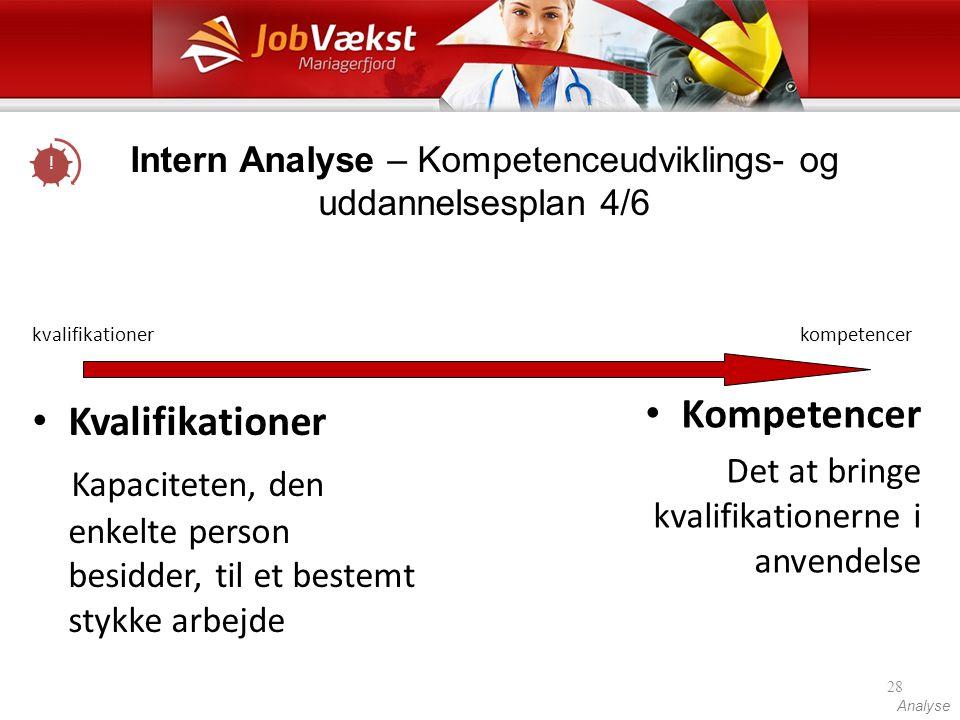 kvalifikationer kompetencer