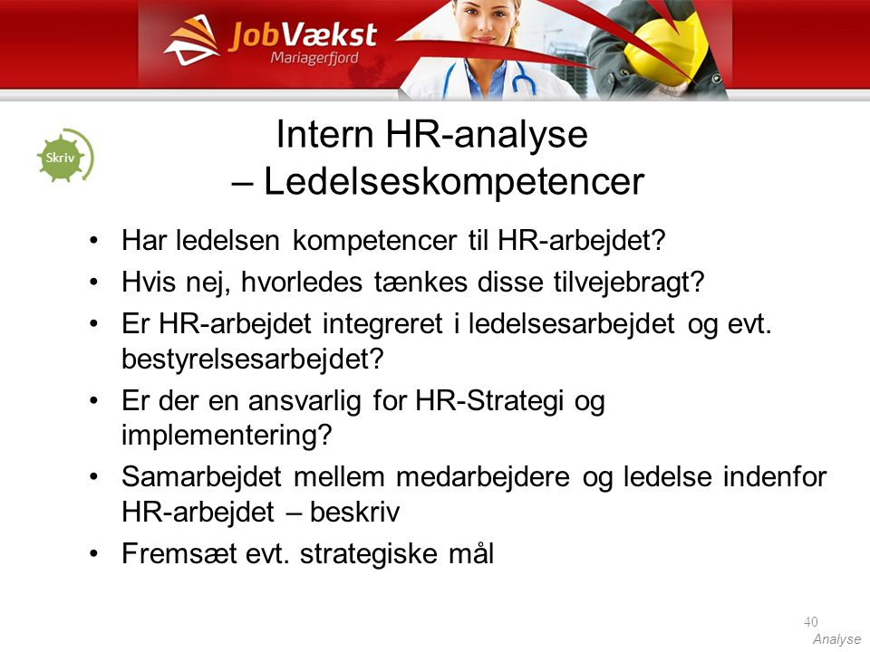 Intern HR-analyse – Ledelseskompetencer