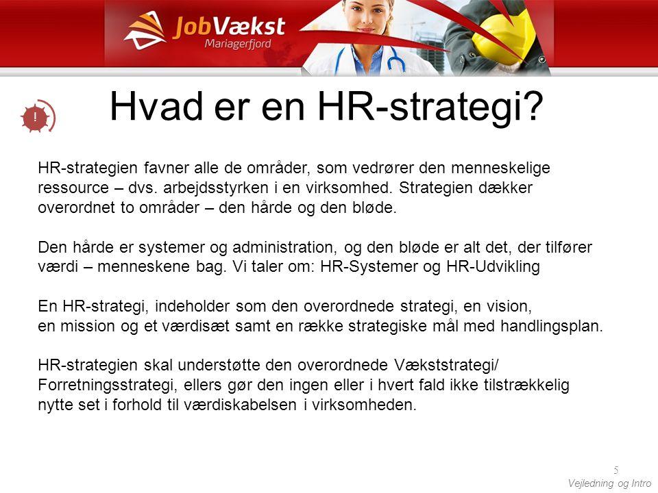 Hvad er en HR-strategi !