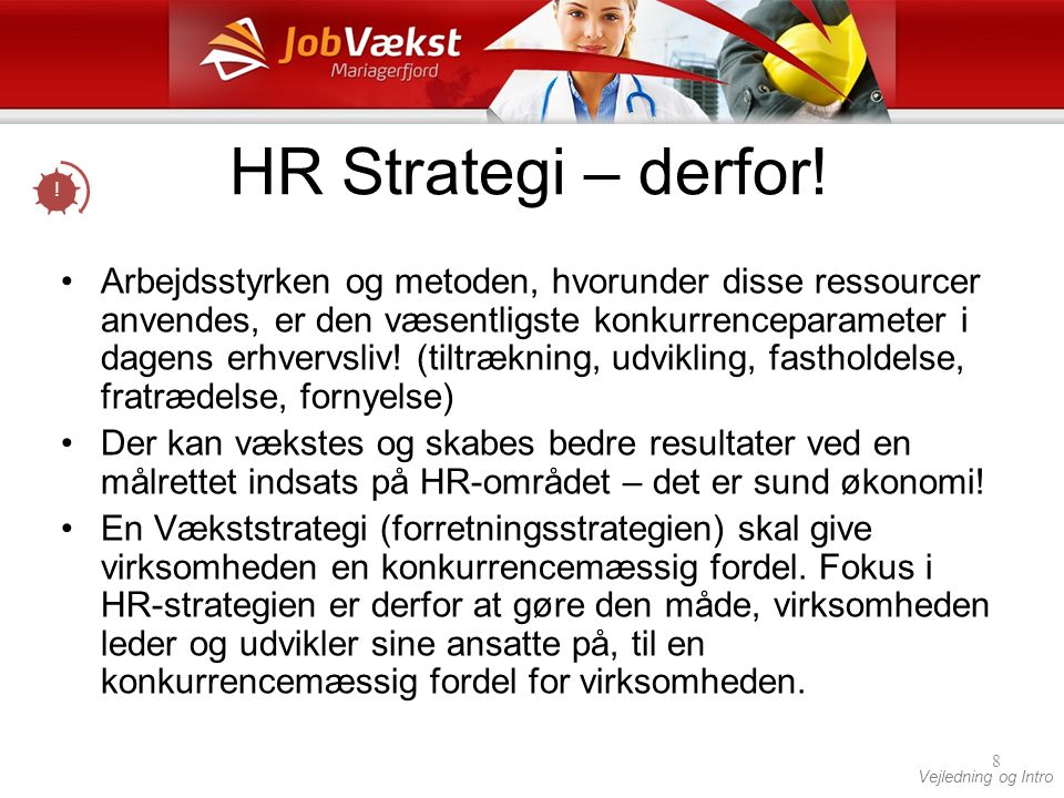 HR Strategi – derfor! !