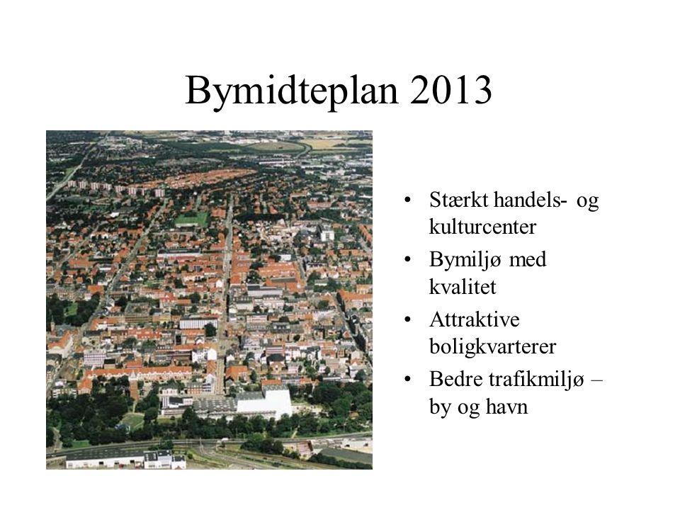 Bymidteplan 2013 Stærkt handels- og kulturcenter Bymiljø med kvalitet