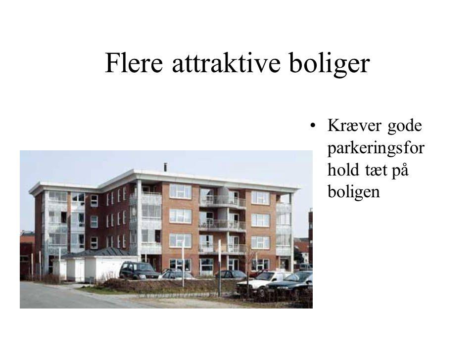 Flere attraktive boliger