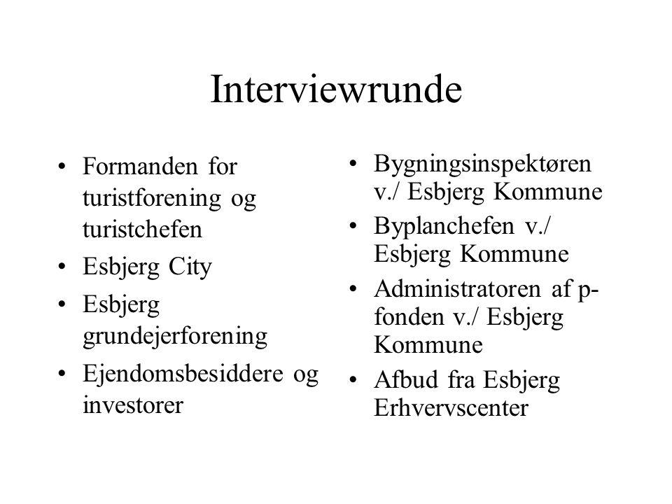 Interviewrunde Formanden for turistforening og turistchefen