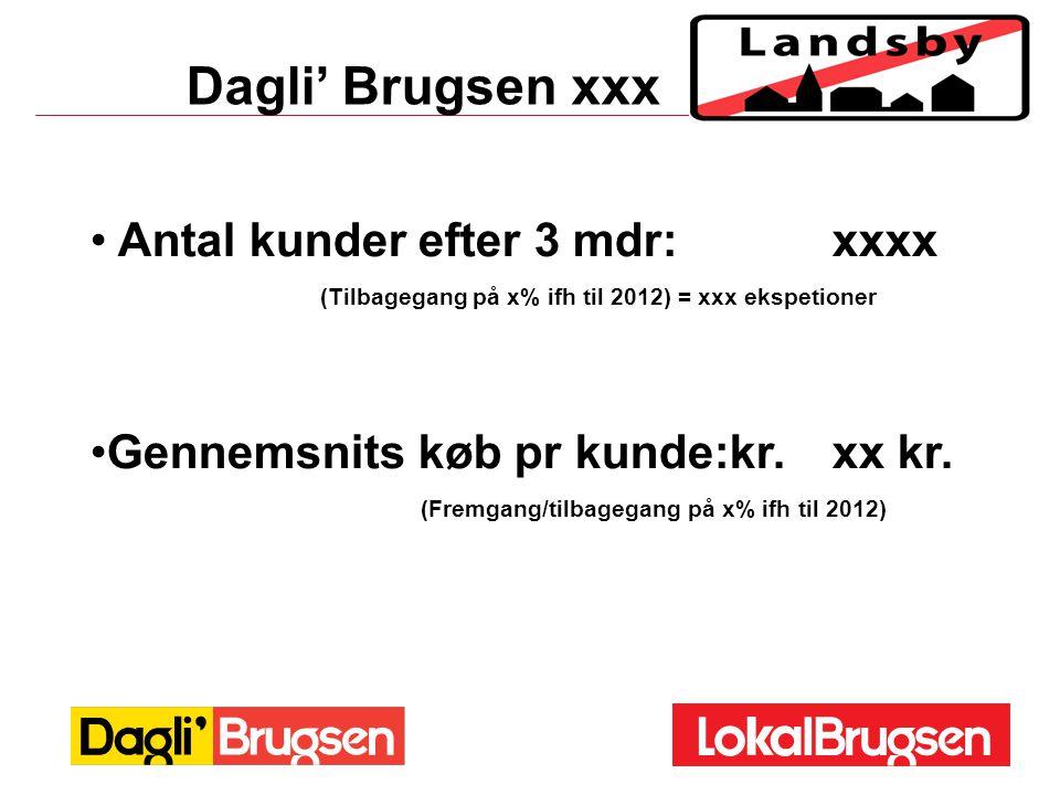 (Tilbagegang på x% ifh til 2012) = xxx ekspetioner