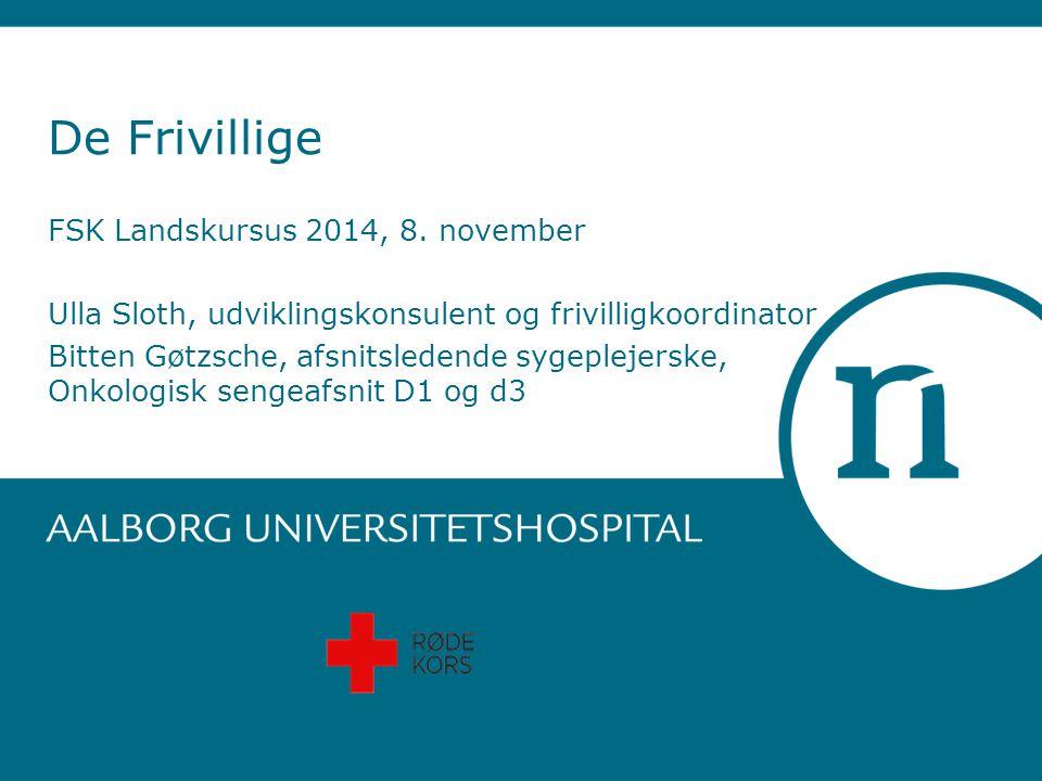De Frivillige FSK Landskursus 2014, 8. november