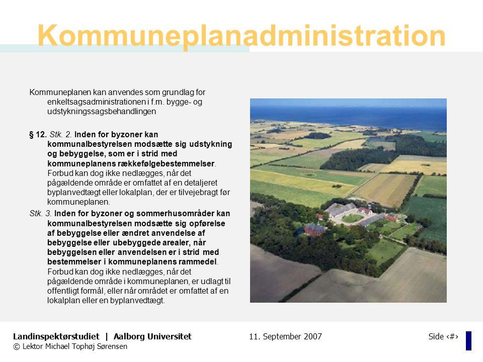 Kommuneplanadministration