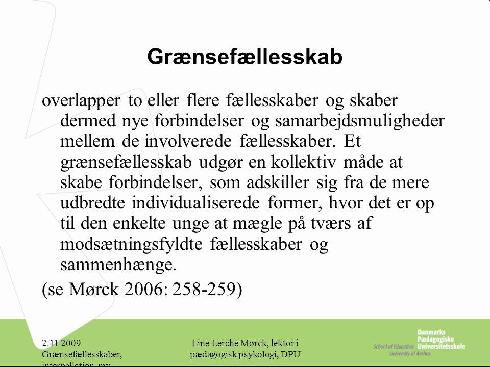 Line Lerche Mørck, lektor i pædagogisk psykologi, DPU