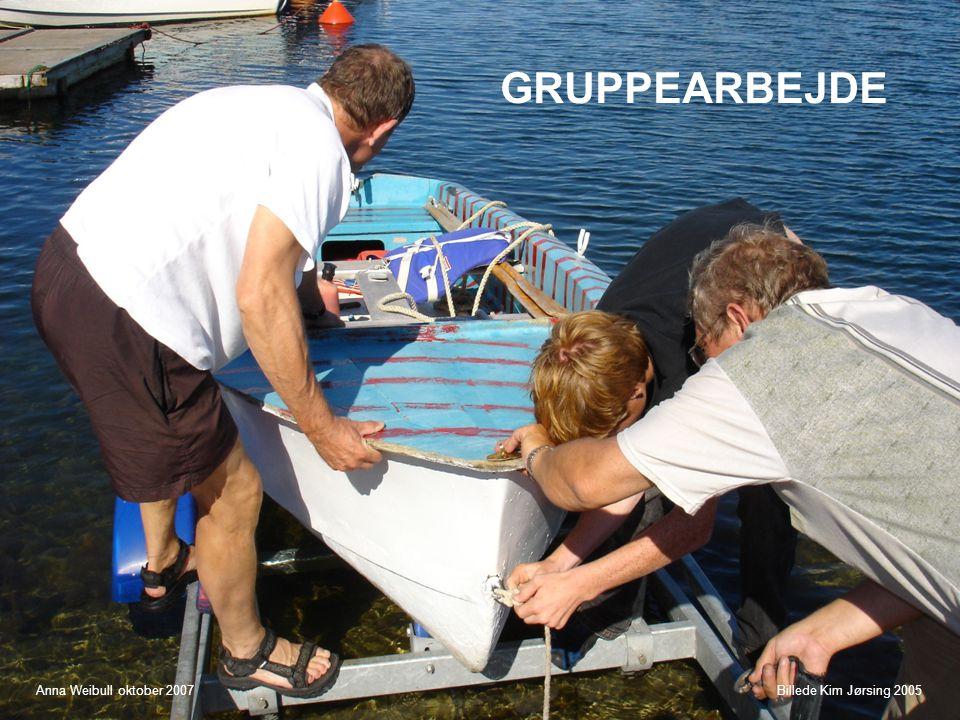 GRUPPEARBEJDE Anna Weibull oktober 2007 Billede Kim Jørsing 2005