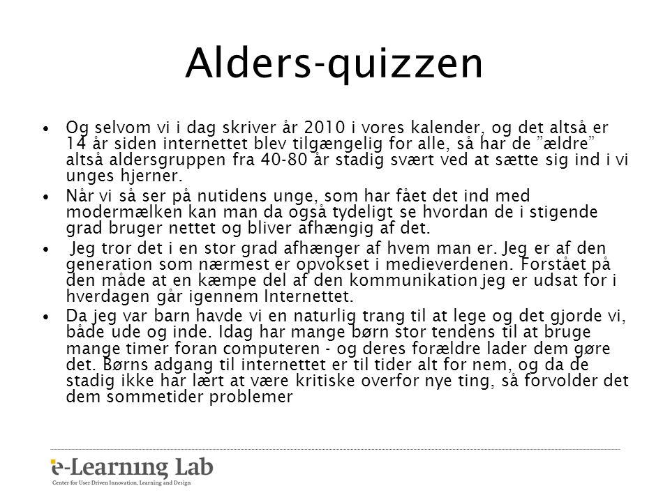 Alders-quizzen