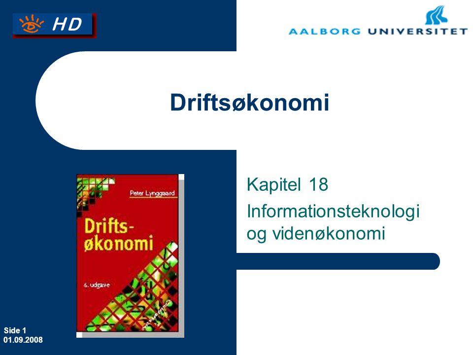 Kapitel 18 Informationsteknologi og videnøkonomi