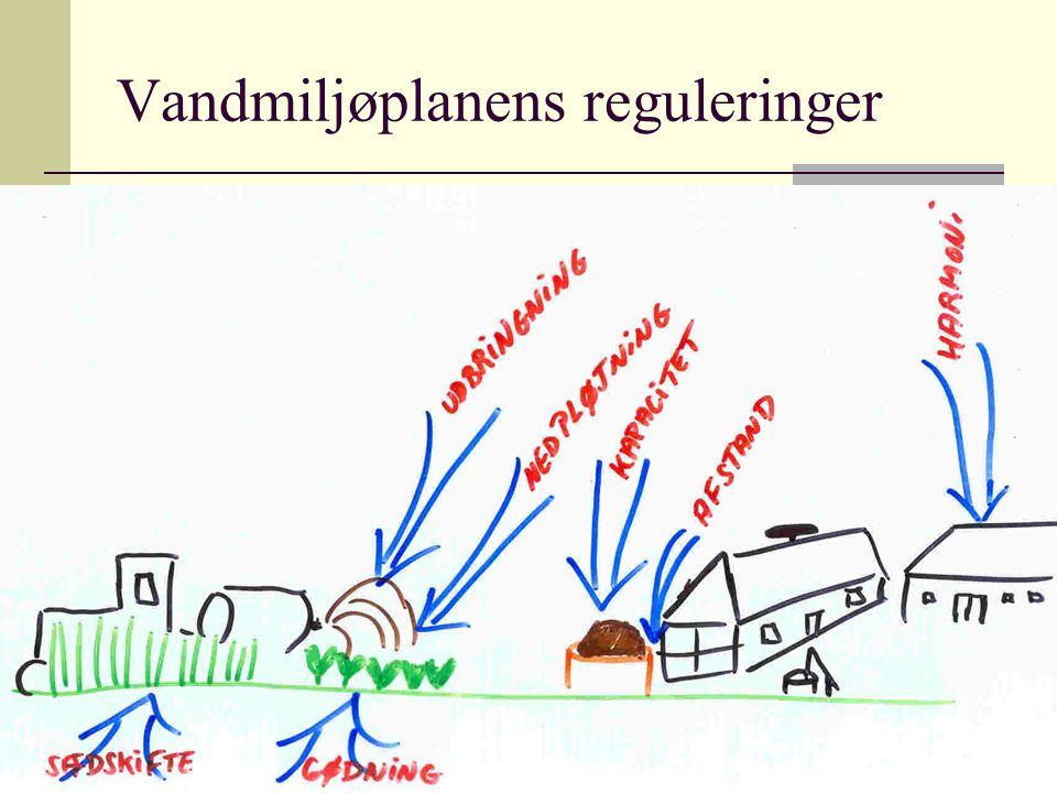Vandmiljøplanens reguleringer