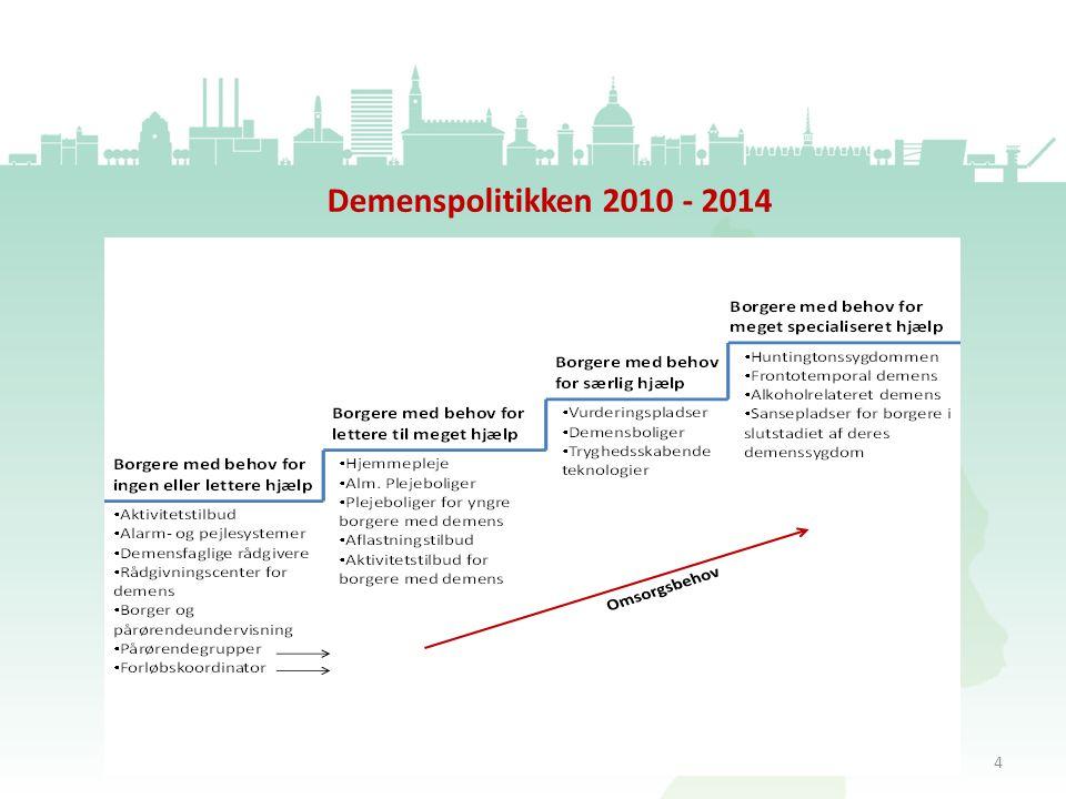Demenspolitikken 2010 - 2014