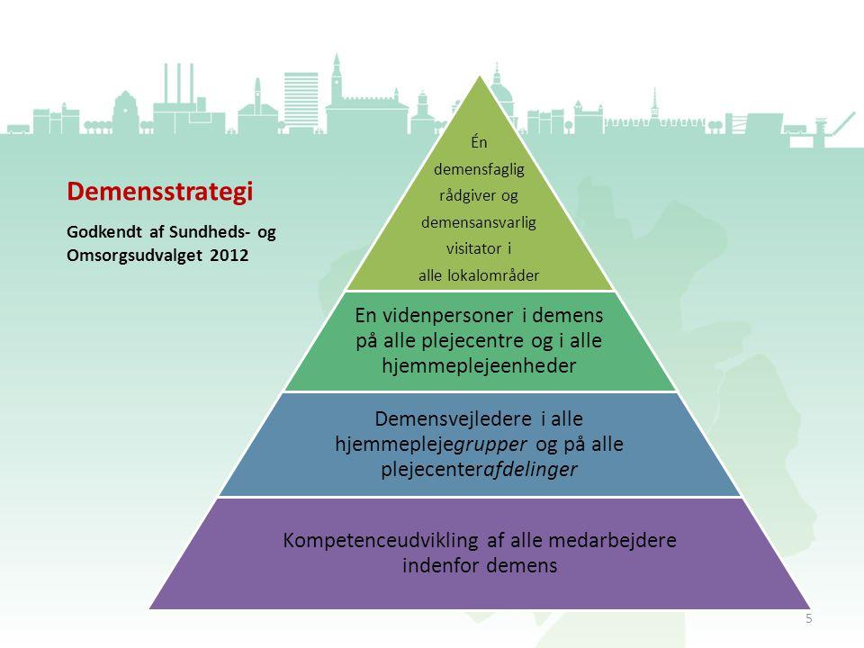 Kompetenceudvikling af alle medarbejdere indenfor demens