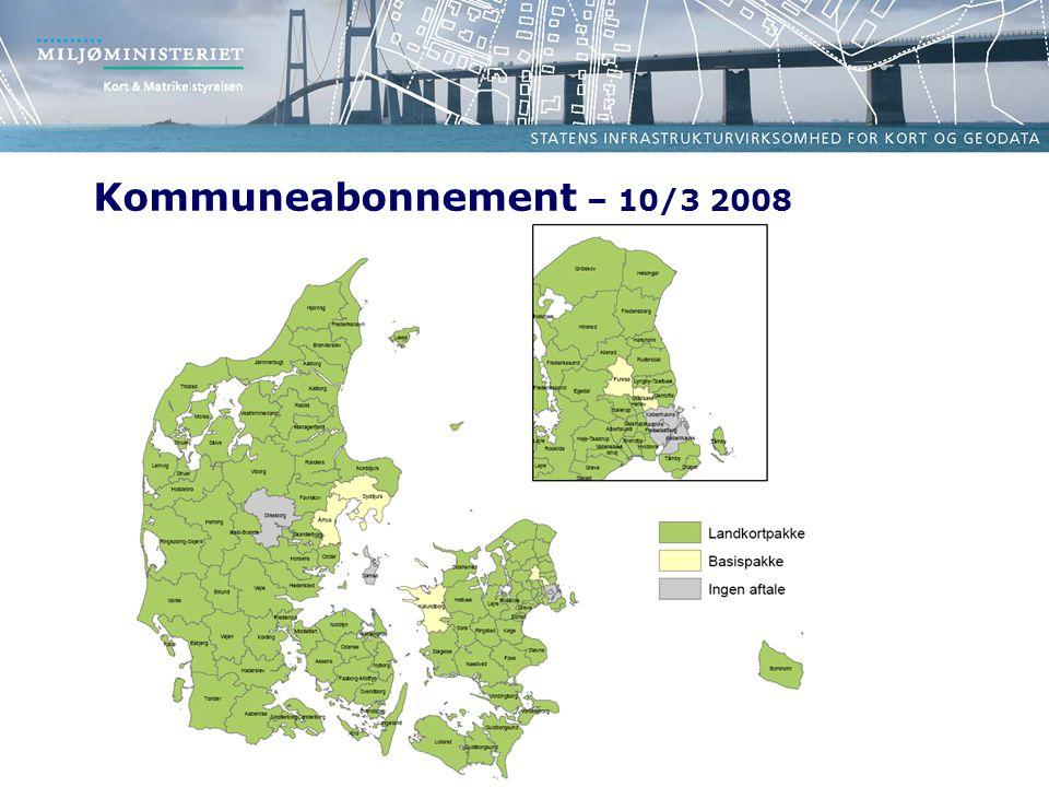 Kommuneabonnement – 10/3 2008