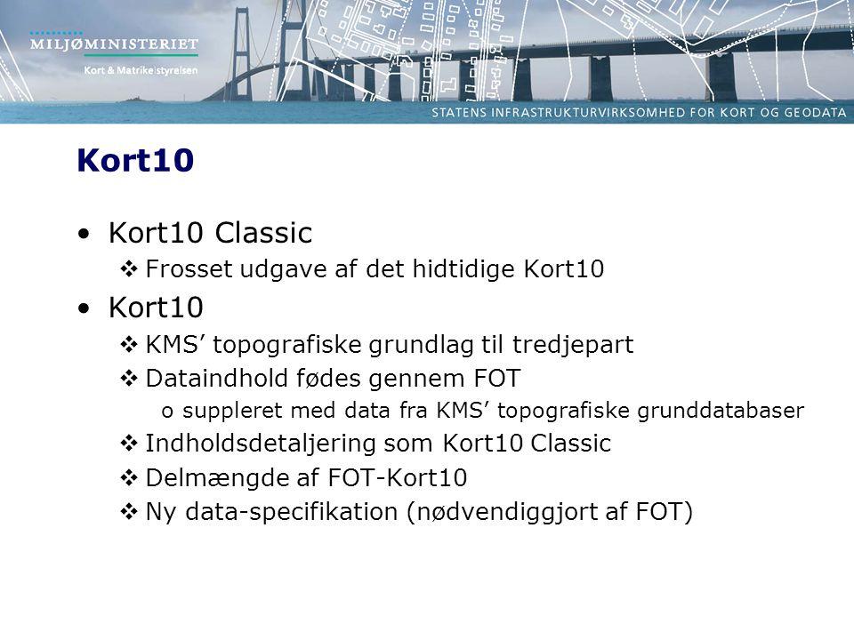 Kort10 Kort10 Classic Kort10 Frosset udgave af det hidtidige Kort10