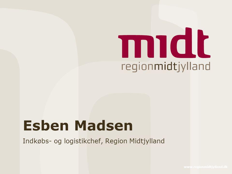 Indkøbs- og logistikchef, Region Midtjylland