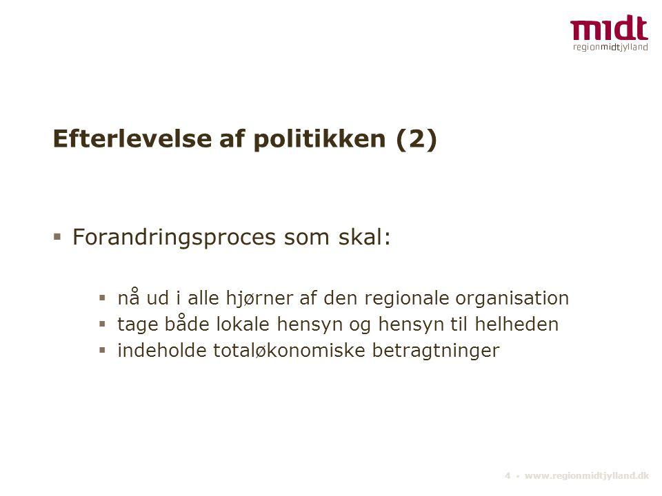 Efterlevelse af politikken (2)